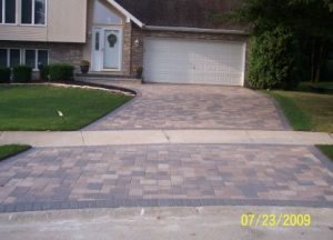 DRIVEWAYS, ENTRYWAYS AND SIDEWALKS