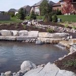 Outdoor pond design