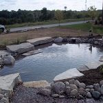 Outdoor pond